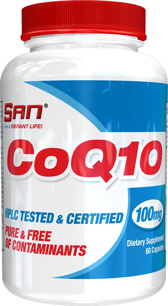 Коэнзим San CoQ10 60 капсул