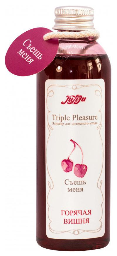 Гель смазка Triple Pleasure горячая вишня