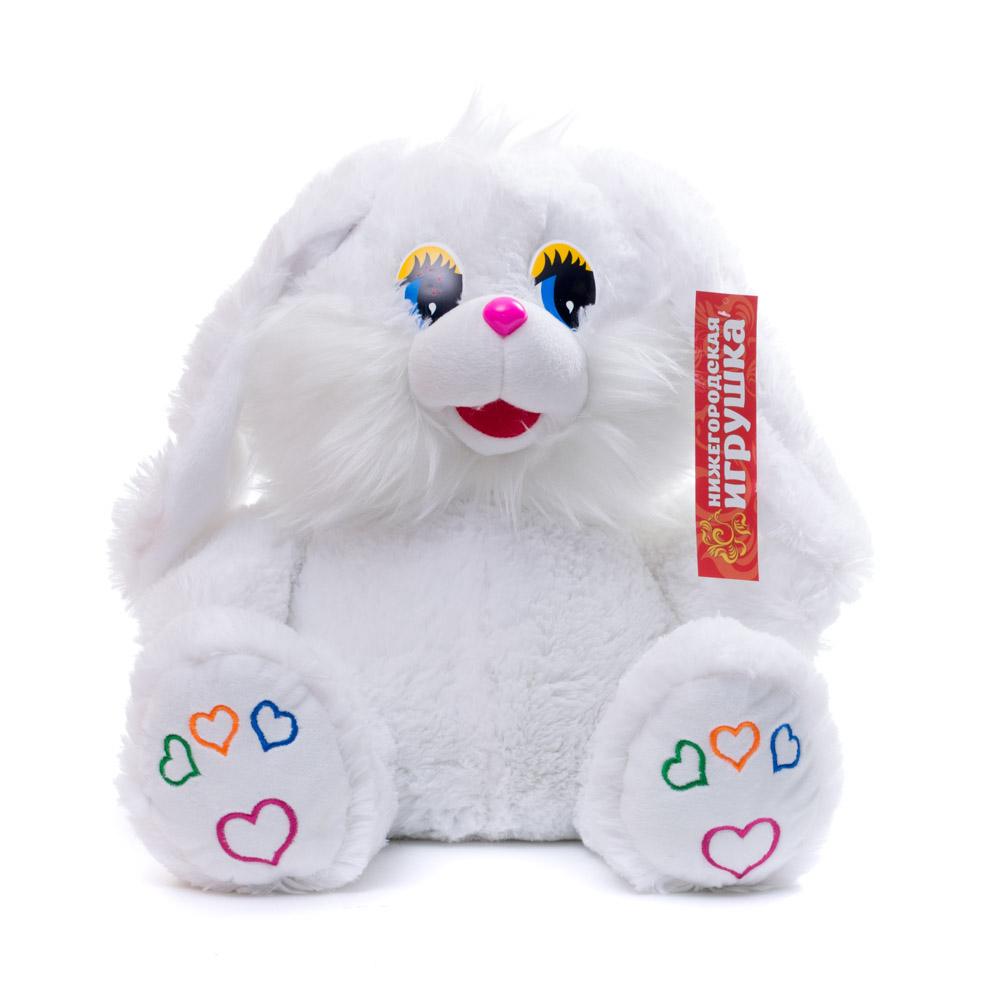 Купить Мягкая игрушка Зайчик 45 см Нижегородская игрушка См-341-в-5, Мягкие игрушки животные