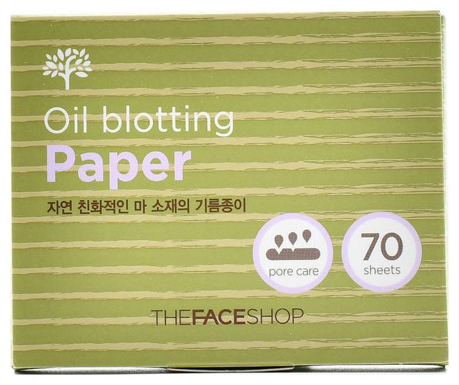 Матирующие салфетки The Face Shop Daily Beauty Tools Oil Blotting Paper 70 шт