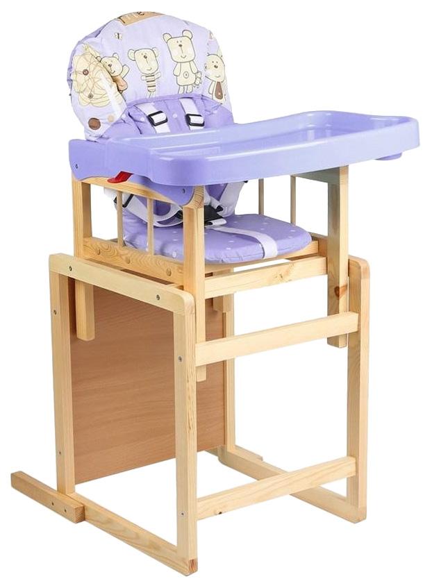 Стол-стул для кормления Мишутка (цвет: фиолетовый) УТ0008224