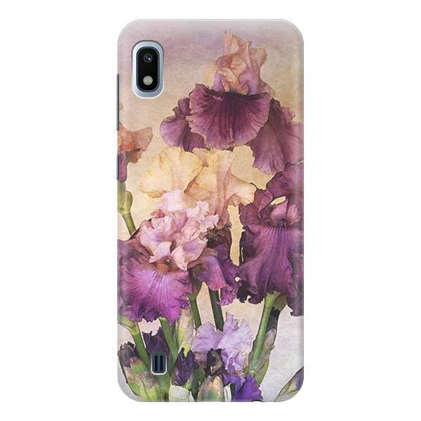 Чехол Gosso Cases для Samsung Galaxy A10 «Фиолетовые цветы»