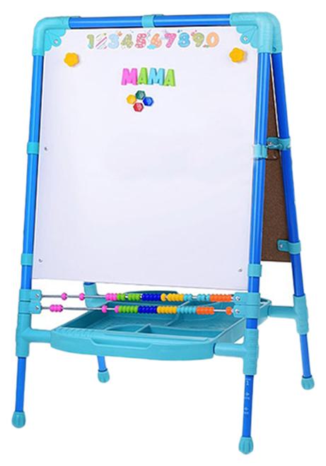 Купить Мольберт для рисования Nika Kids растущий М2Л/С синий,