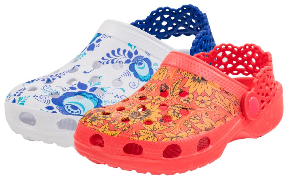 Купить 52501301, Пляжная обувь Котофей 525013-01 для девочек р.33, Детские сандалии