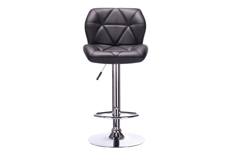 Полубарный стул Hoff Boston, хром/черный
