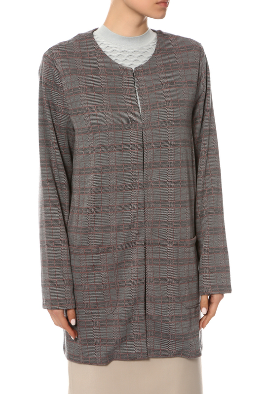 Пиджак женский Samoon серый 42