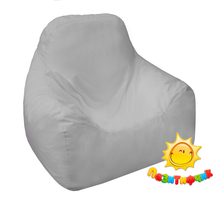 Кресло-мешок Pazitif Пазитифчик Оксфорд, размер L, оксфорд, белый фото