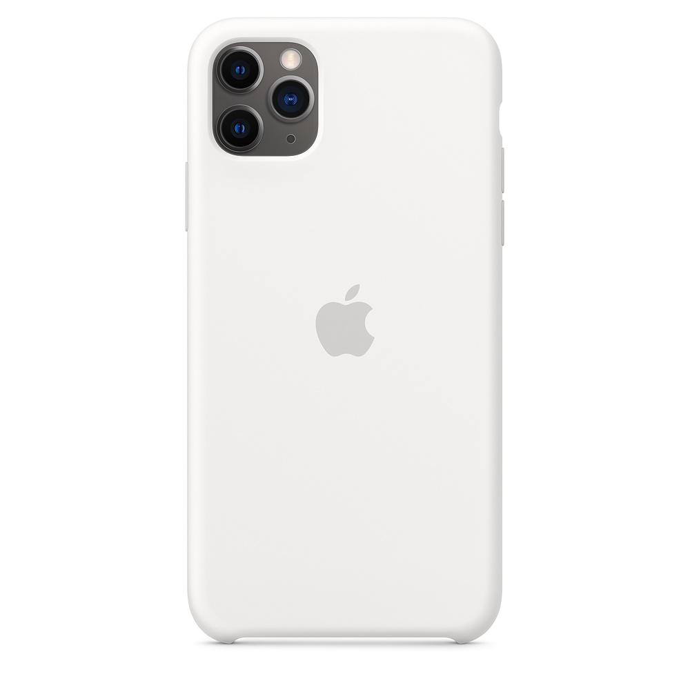 Чехол Apple для iPhone 11 Pro Max Silicone Case - White