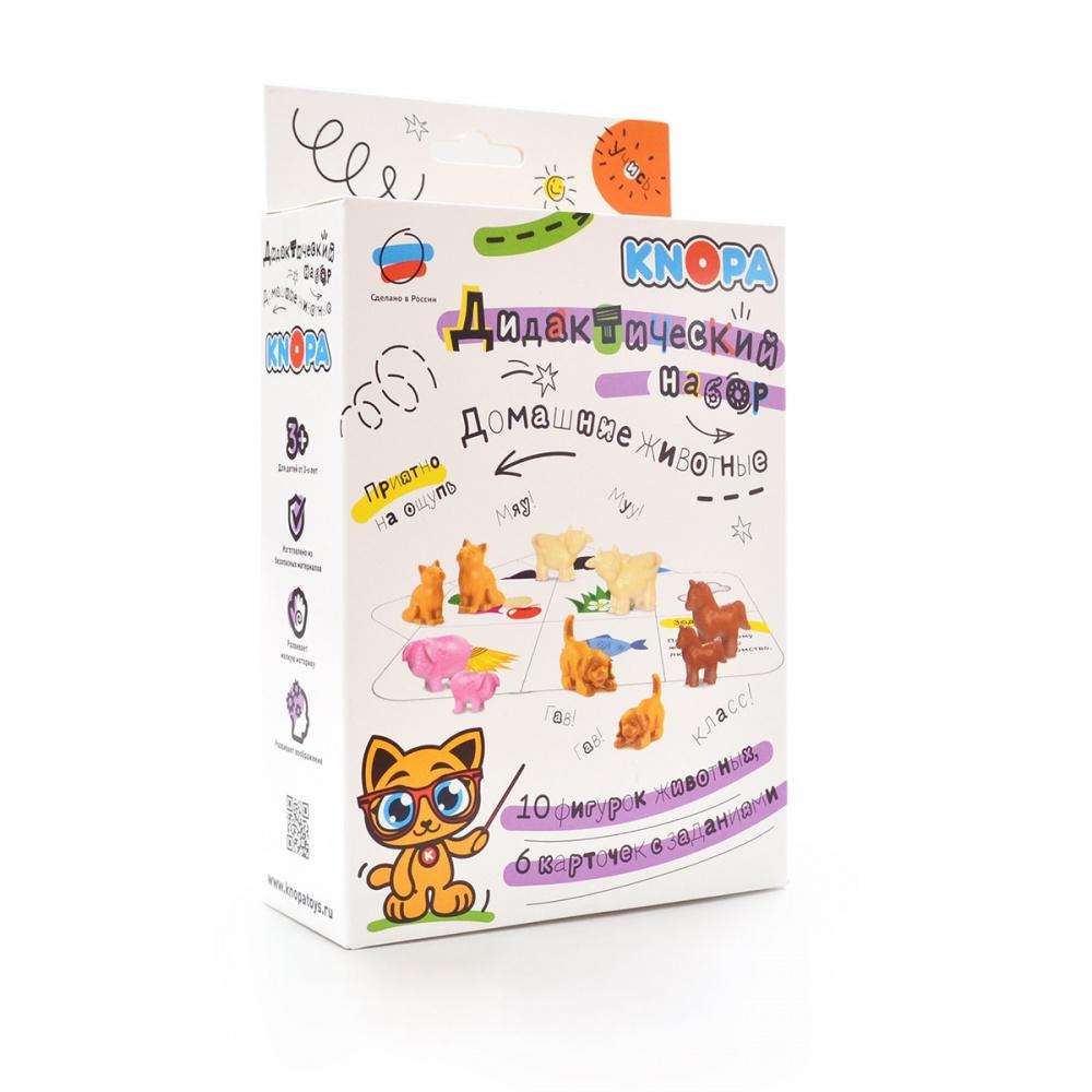 картинка Развивающая игрушка Knopa Дидактический набор Домашние животные 87039 от магазина Bebikam.ru