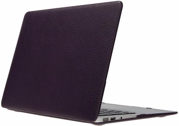 Чехол Heddy Leather Hardshell (HD-N-A-13o-01-12) для MacBook Pro 13\'\' 2009-2011 (Violet)