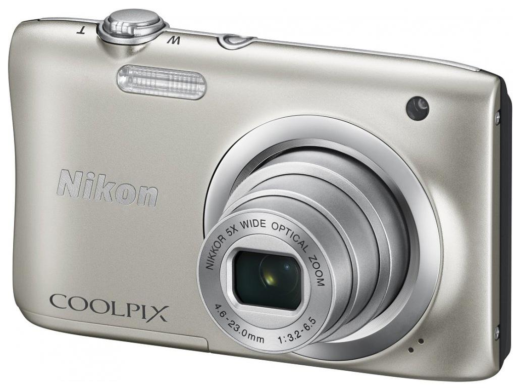 Фотоаппарат цифровой компактный Nikon Coolpix A100 Silver