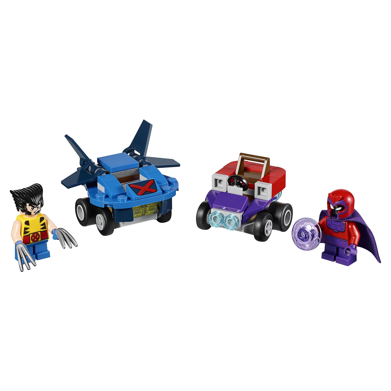 Купить Конструктор LEGO Super Heroes Mighty Micros: Росомаха против Магнето (76073)