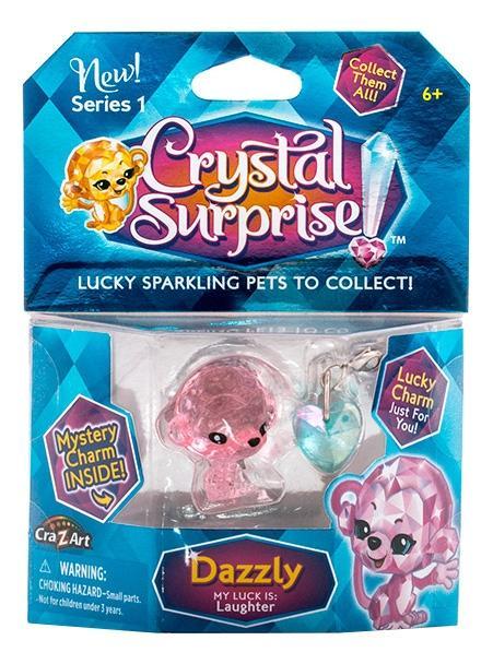 Купить Обезьянка, Crystal surprise 45703 кристал сюрприз фигурка обезьянка + подвески, Игровые фигурки