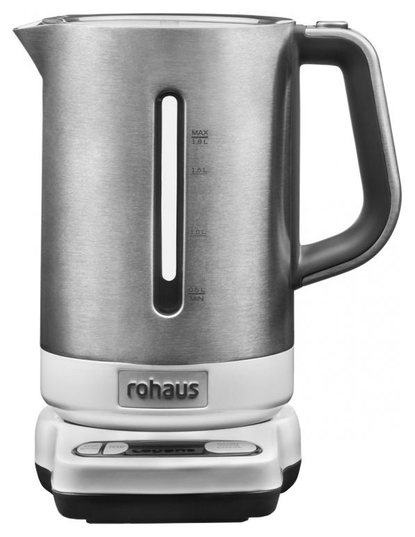 Чайник электрический Rohaus RK 910W White/Silver
