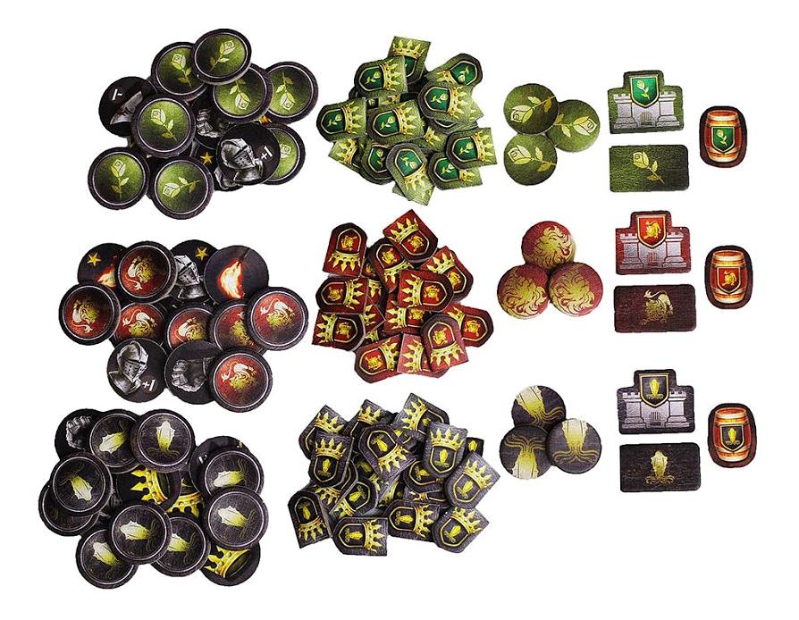 Настольная игра игра престолов Hobby World 2-е издание фото