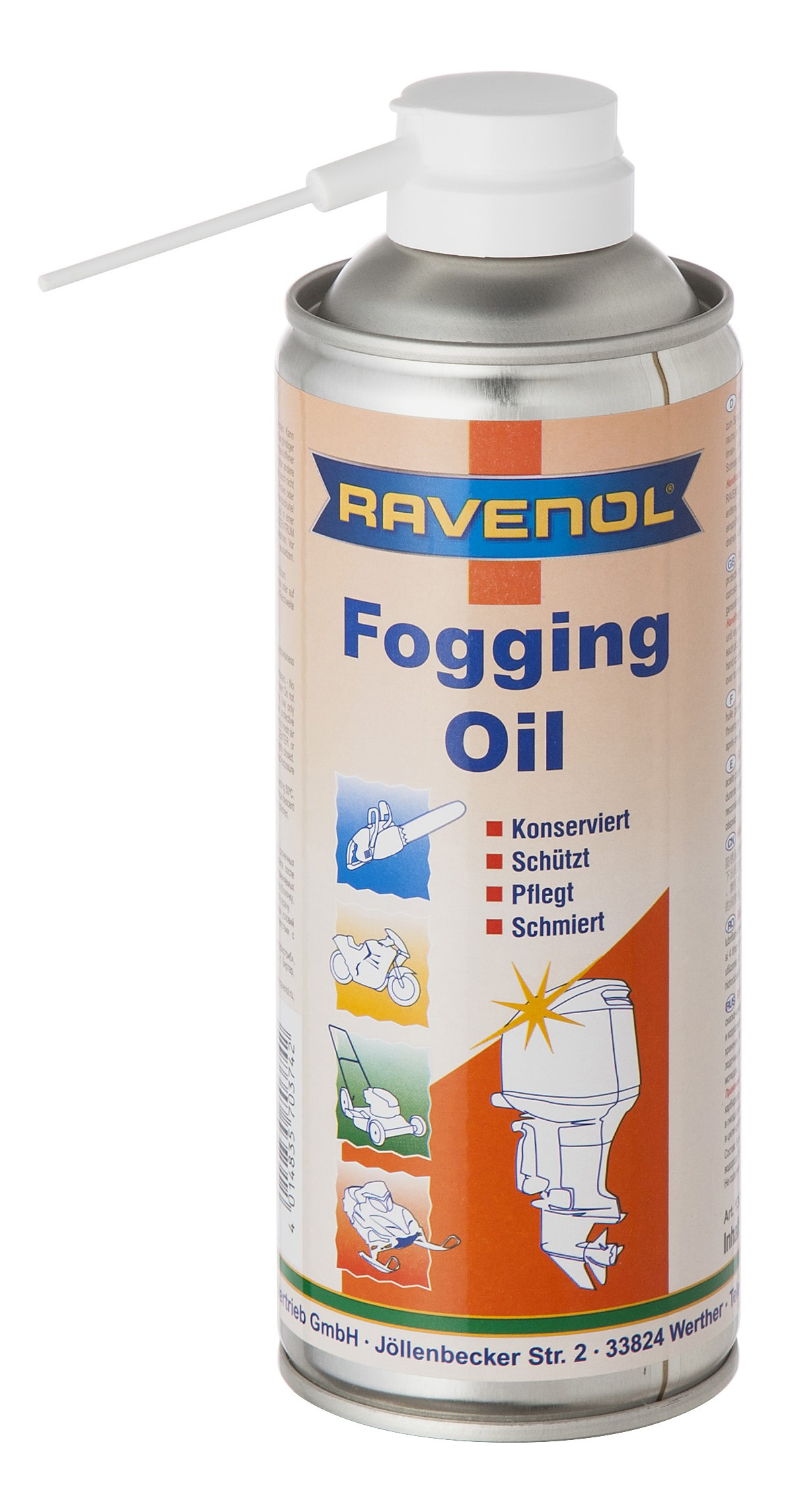 Смазка консервирующая Ravenol Fogging Oil 4014835703742