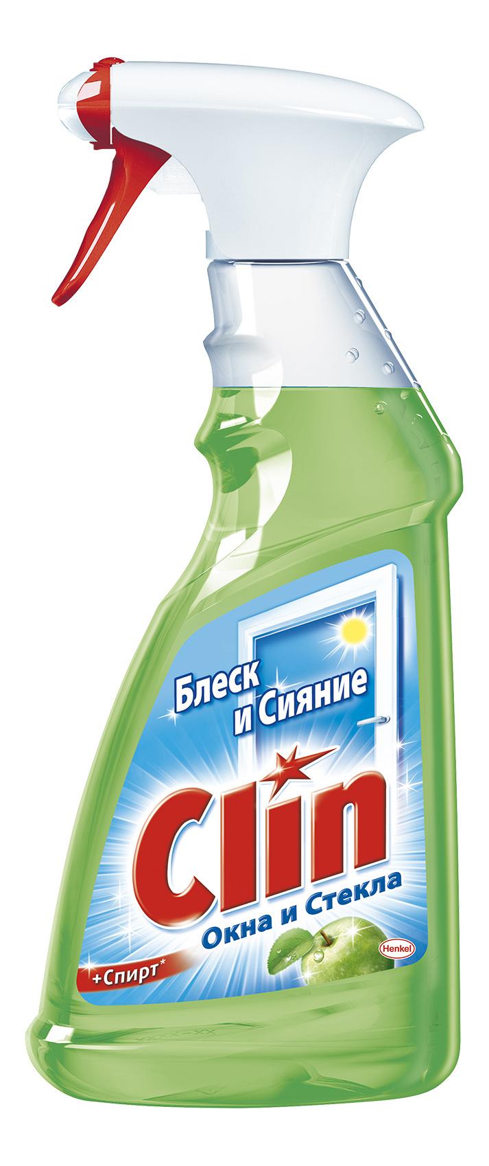Чистящее средство для стекол и зеркал Clin