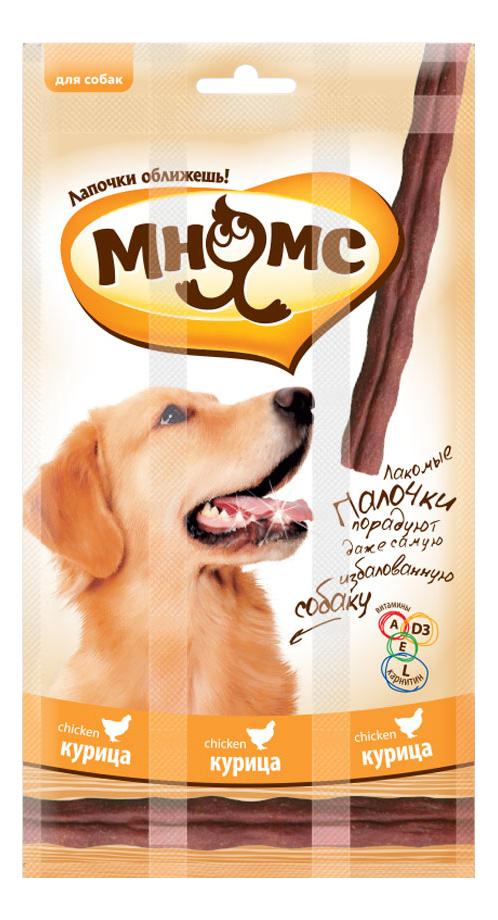 Лакомство для собак Мнямс, лакомые палочки с курицей, 45г