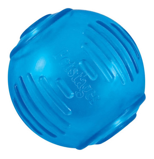 Мяч для собак Petstages ОРКА Теннисный мяч, синий, 7 см фото