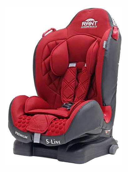 Автокресло RANT Premium IsoFix группа 1/2, Red