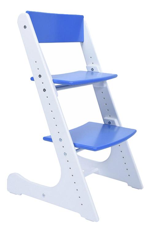 Купить Растущий, Стул Конек Горбунек растущий сине-белый, Детские стульчики
