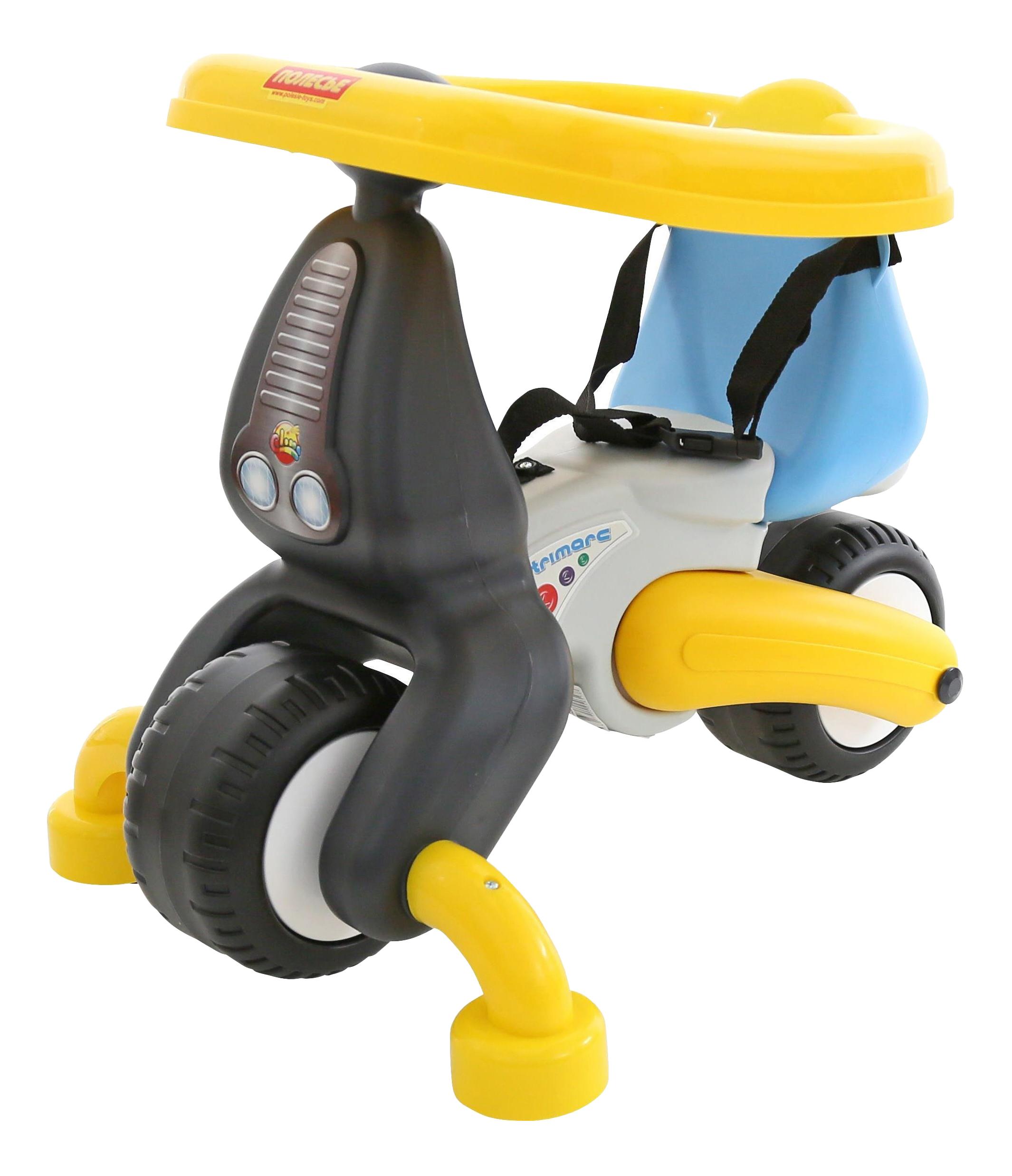 Купить Средняя, Каталка детская Полесье Тримарк с панелью, Каталки мотоциклы