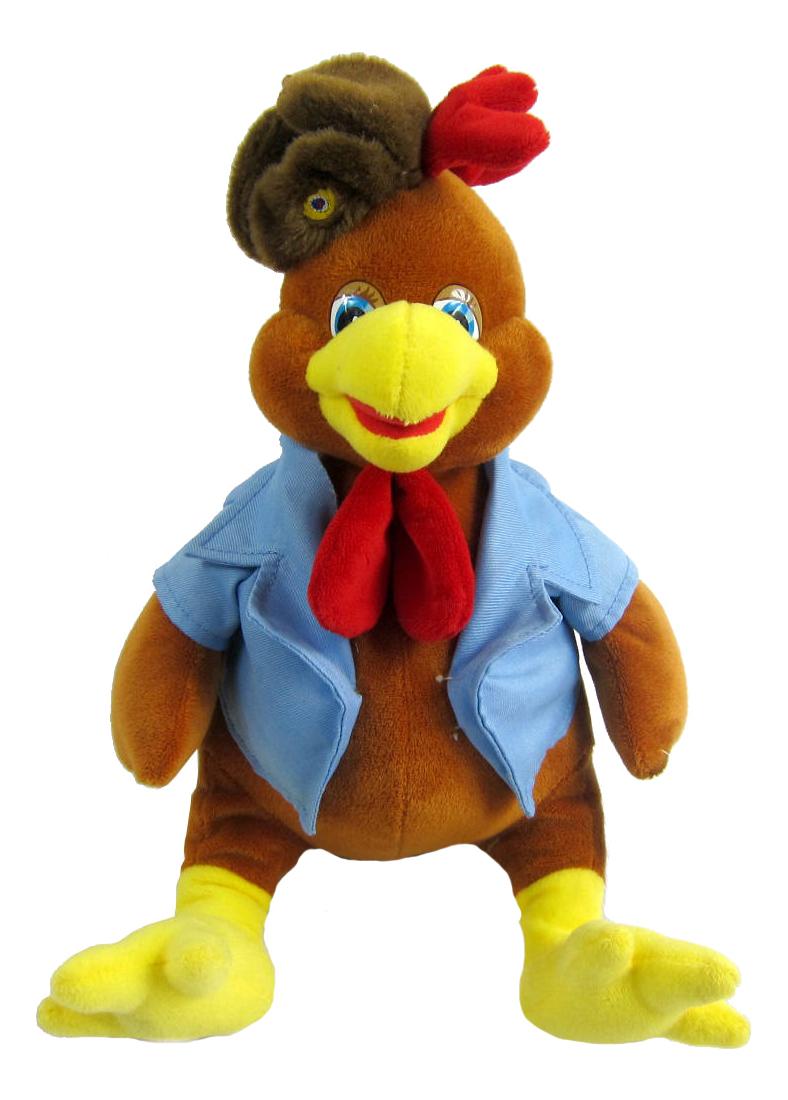 Мягкая игрушка Teddy Петушок в форме, 18x25x20 см