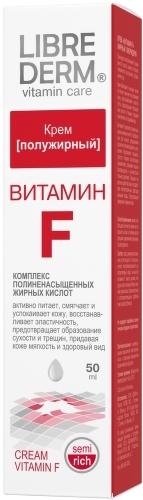 Крем полужирный LIBREDERM Витамин F, 50 мл