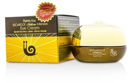 Купить Крем для глаз с муцином улитки FARMSTAY Escargot Noblesse Intensive Eye Cream, 50 мл