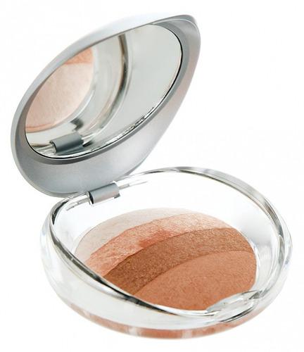 Купить Румяна-пудра со светоотражающими частицами для лица и тела PUPA, тон №02