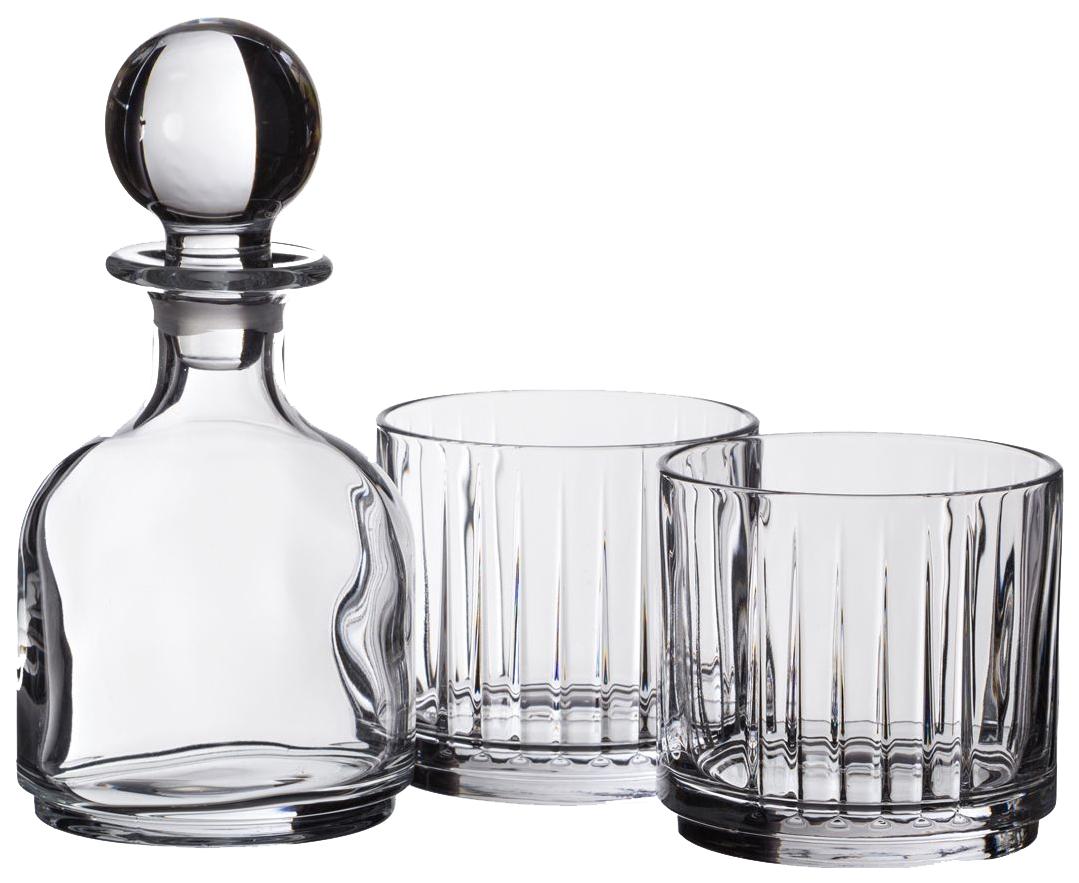 Набор для виски, 3 пр,( мини-графин, 2 бокала для виски)