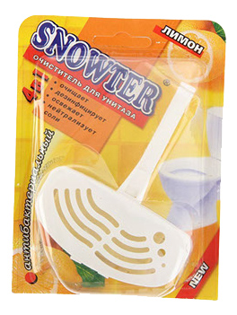 Чистящее средство для унитаза блистер Snowter лимон