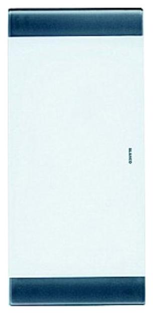 Разделочная доска белое стекло 420х200х17,5 мм