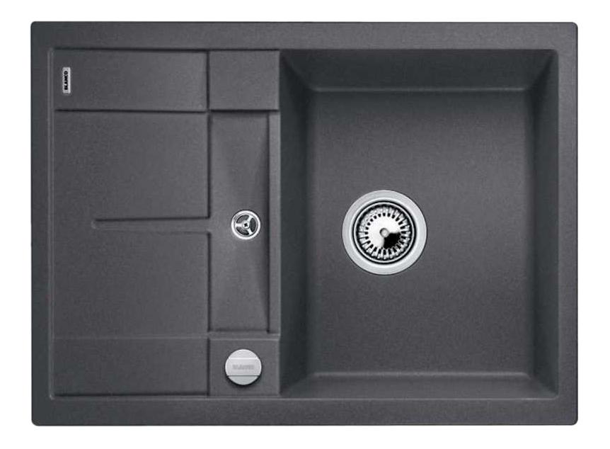 Мойка для кухни гранитная Blanco METRA 45 S Compact 519573 темно-серый