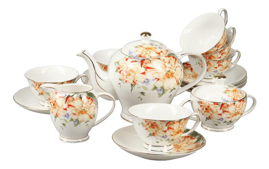 Чайный сервиз Rosenberg Чайный сервиз RCE-115005-15, 15 предметов, 160 мл 15 пр. фото