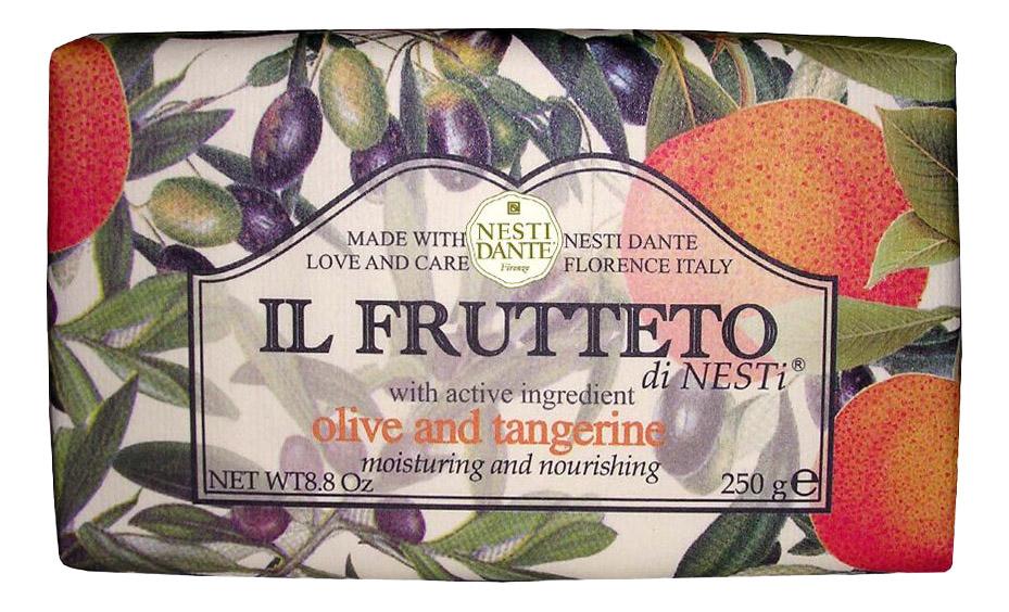 Косметическое мыло Nesti Dante Оливковое масло и мандарин 250 г