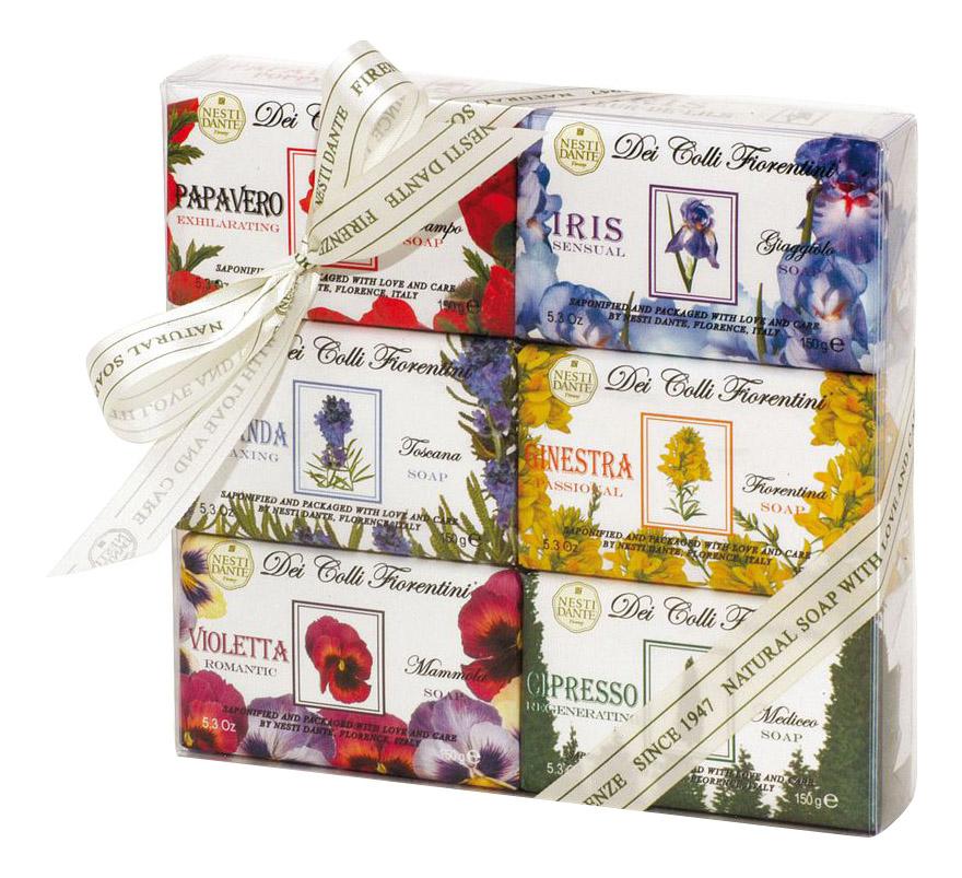 Косметическое мыло Nesti Dante Цветочная коллекция 6*150