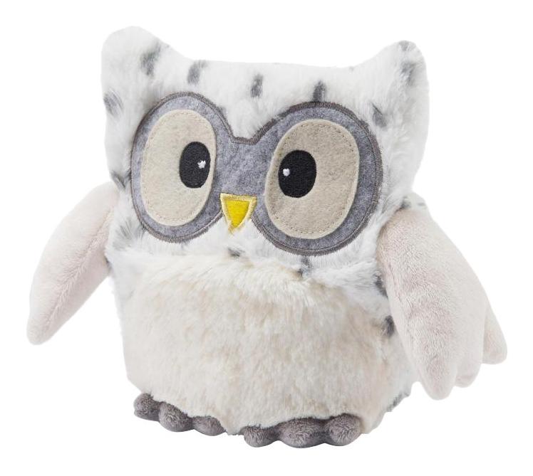 Мягкая игрушка-грелка Warmies Совенок снежный фото
