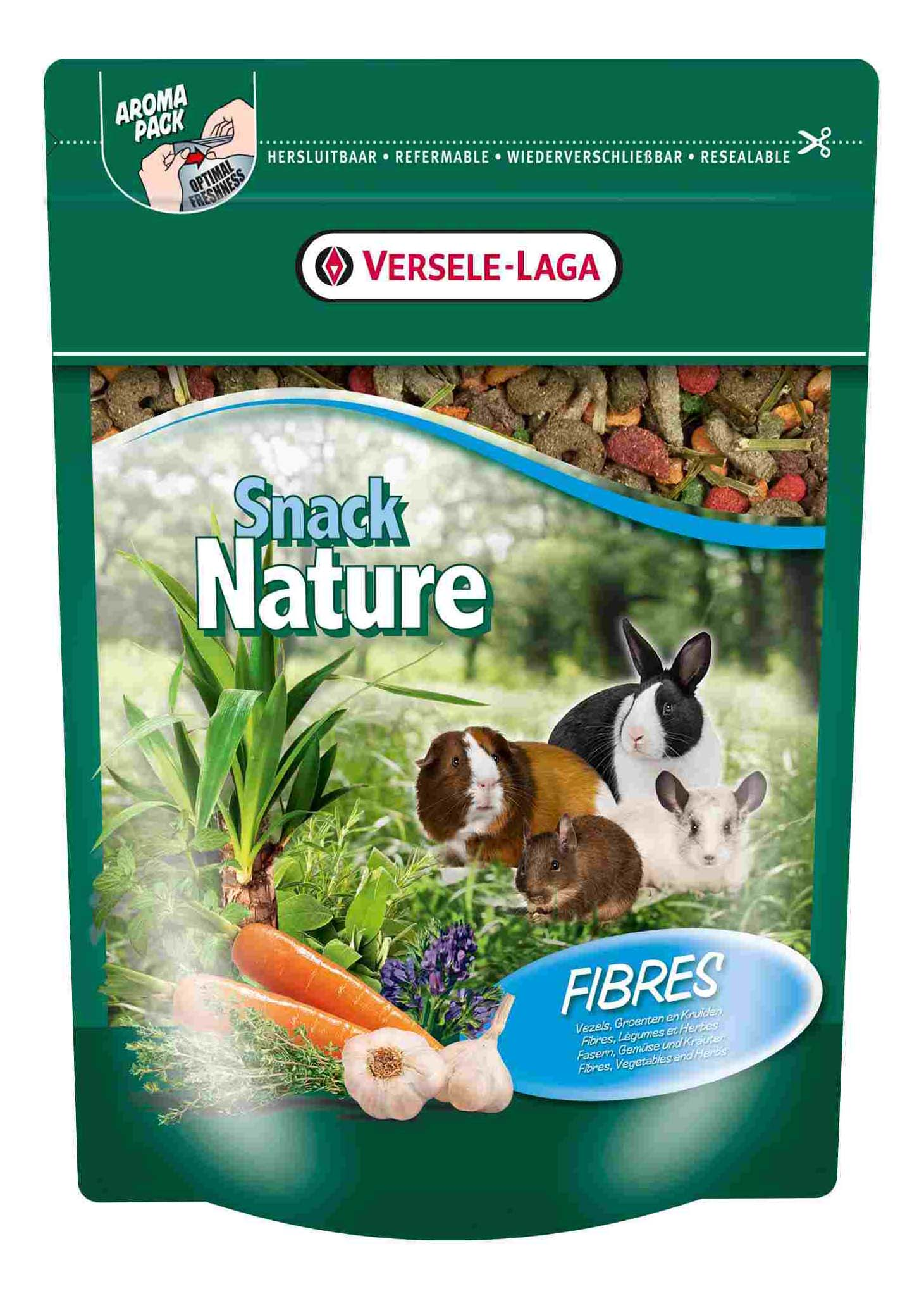 Корм для грызунов Versele Laga Nature Snack Fibres