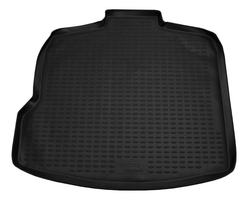 Коврик в багажник OPEL Vectra 2002-2008, хб, (полиуретан)