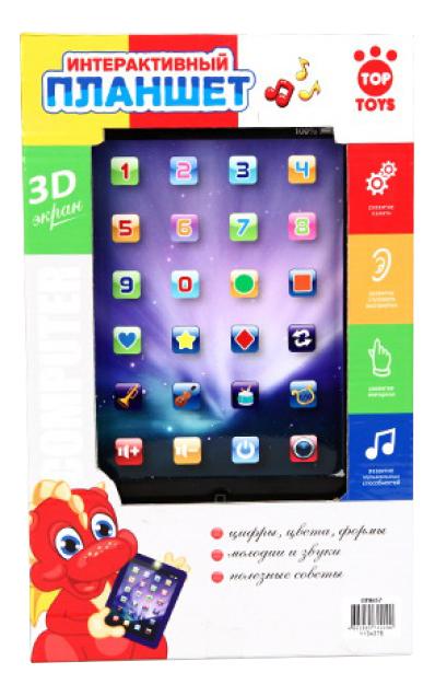 картинка Интерактивная развивающая игрушка Top Toys Интерактивный планшет от магазина Bebikam.ru