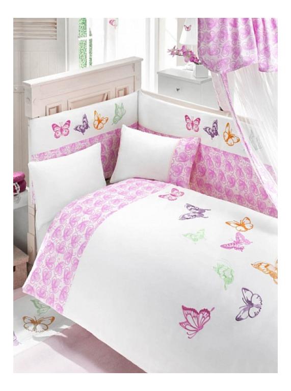 Комплект детского постельного белья Bebe Luvicci Little Wings 6 предмета