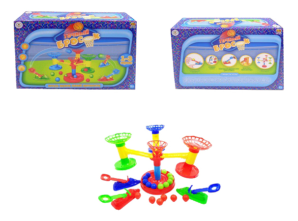 Купить Семейная настольная игра ABtoys Точный бросок PT-00762, Семейные настольные игры