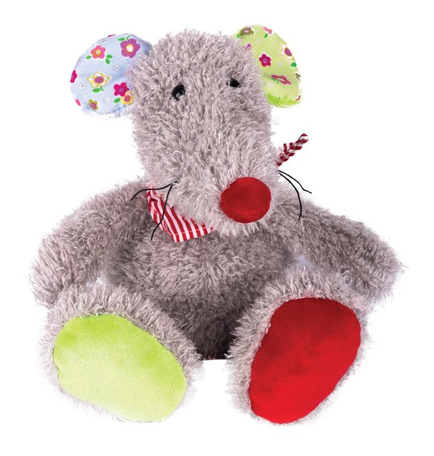 Купить Мышка Маришка 17 см, Мягкая игрушка Gulliver Мышка Маришка, 17 см, Мягкие игрушки животные