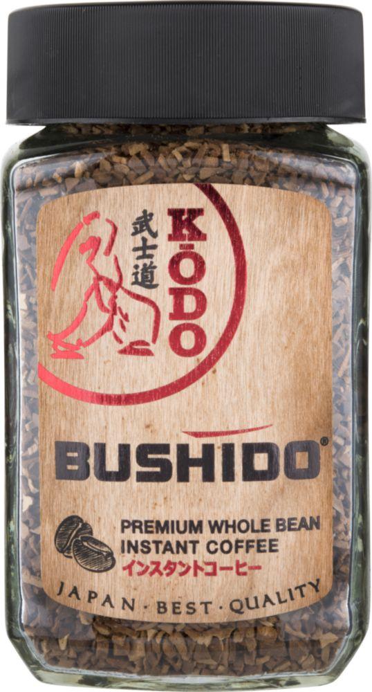 Кофе молотый в растворимом Bushido kodo 95 г фото