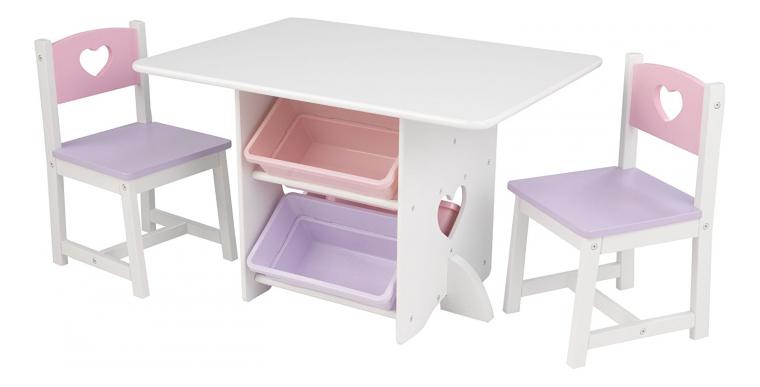 Комплект детской мебели KIDKRAFT HEART