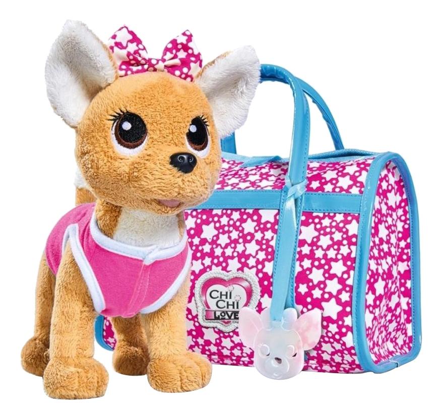 Игровой набор Chi Chi Love мягкая игрушка звездный стиль с сумочкой 5893115, Simba, Игровые наборы  - купить со скидкой