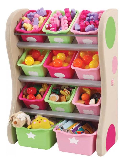Стеллаж для хранения игрушек Step2 Комод для игрушек фото
