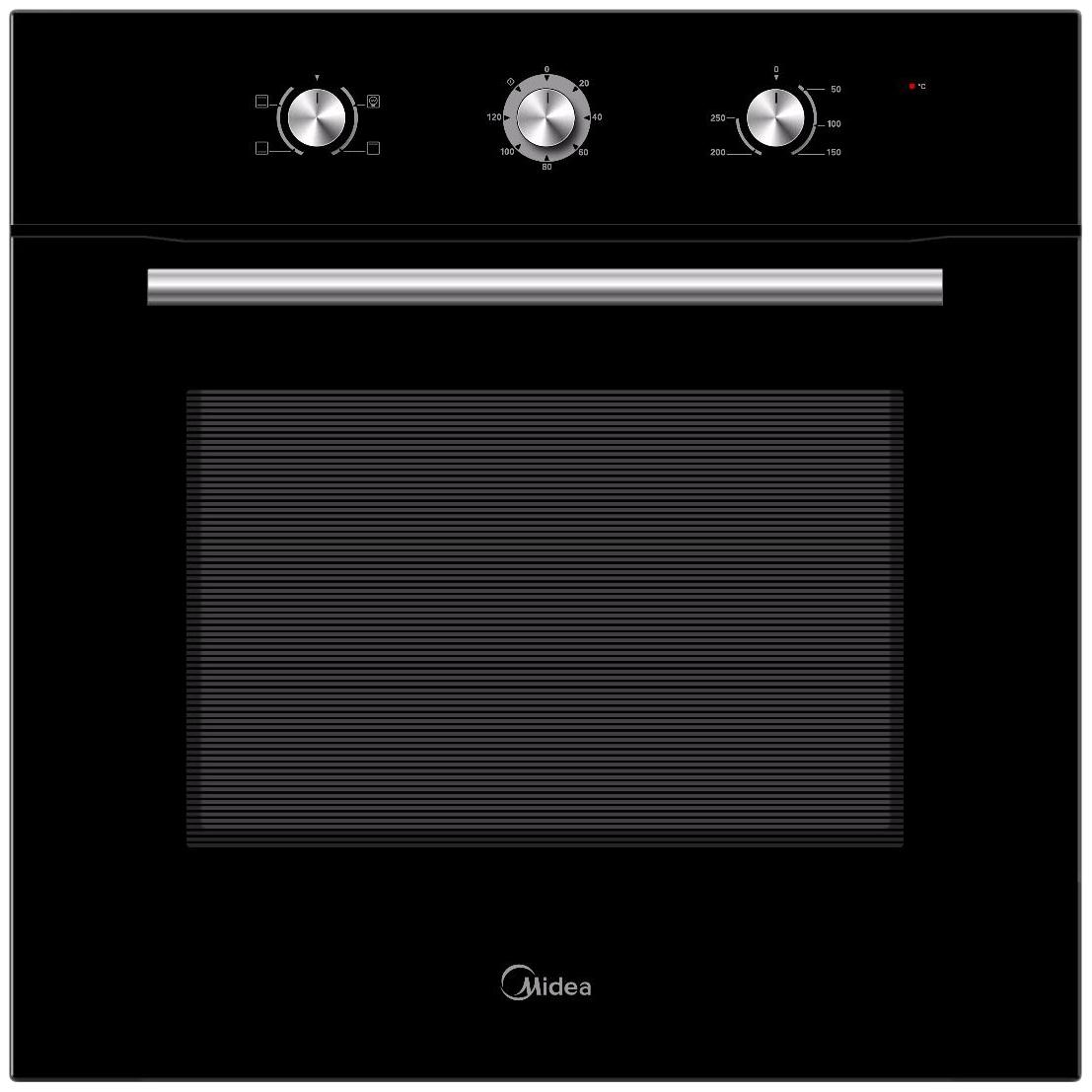 Встраиваемый электрический духовой шкаф Midea MO23000GB Black фото