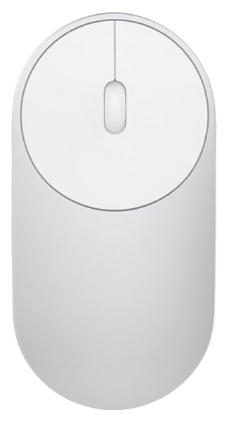 Беспроводная мышь Xiaomi Mi Portable Mouse XMSB02MW Silver фото